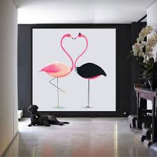 Nordic Decoration Poster Flamingo Promotion Shop For Promotional Poster Flamingo On