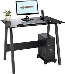 pc bureau compact bol com piranha barbel bureau zwart glas compact pc 7bg