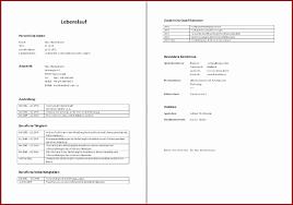 Lebenslauf Vorlage Excel Tabellarischer Lebenslauf Vorlage Word Ht5mgl Einfacher