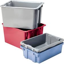 industrial storage totes warehouse containers correct products