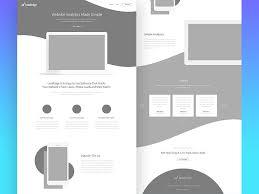 10 fascinating examples of wireframes in web design 1stwebdesigner