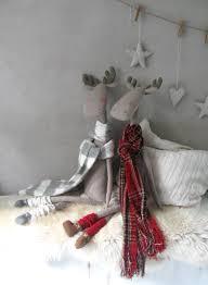 Moose Christmas Tree Skirt Stuffed Moose Christmas Toys Deer Christmas Moose Scandinavian
