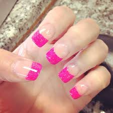 25 best colored nail tips french ideas on pinterest color