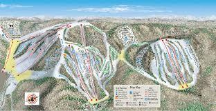 Map Of Michigan Roads by Trail Guide Nub U0027s Nob Ski Area Northern Michigan