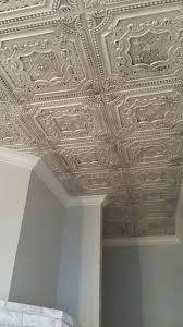 Faux Tin Ceiling Tiles Drop In by Ceiling Zmfvpbgluzya Amazing Faux Metal Ceiling Tiles Drop In