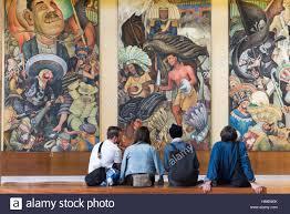 si e de mural diego rivera mural mexico stockfotos diego rivera mural mexico