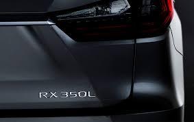 lexus 3 row suv 2018 lexus rx l 3 row suv to debut at 2017 la auto