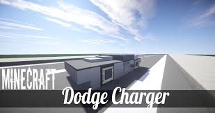 how to build a dodge charger minecraft vehicle tutorial how to build dodge charger