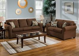 Reddish Brown Leather Sofa Brown Furniture Color Scheme Grey Walls Leather