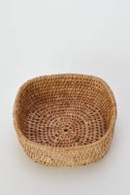 clearnace 9 small mixed woods pine needle basket centers