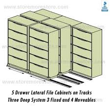 3 Drawer Lateral File Cabinets by 3 2 2 Sliding Lateral Filing Cabinets On Tracks 36