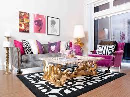 Black And White Home Decor Ideas Cool 40 Black White And Gold Living Room Ideas Design Ideas Of