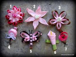 handmade hair bows ribbons handmade hair bows ribbon flowers and