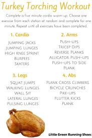 healthy thanksgiving tips and turkey torching workout work it