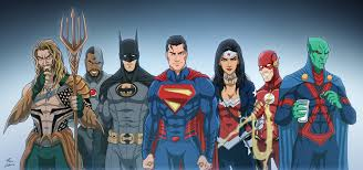 Justice League Justice League By Phil Cho On Deviantart