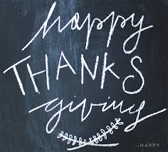 happy thanksgiving la happy calligraphy custom paper goods