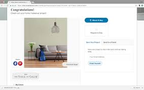 paint a room with ppg voice of color hoover paint