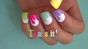 summer flowers toe nail art design youtube nail art easy for