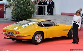 maserati yellow gallery maserati at the 70th venice film festival gtspirit