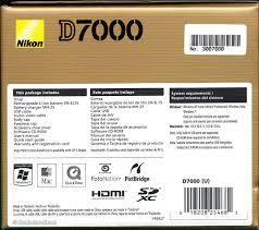 nikon d7000 specifications