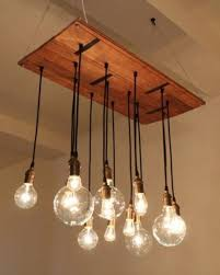 Light Bulb Chandelier Diy Diy Chandelier From Euro Pallets Brightening Your Home U2013 Fresh