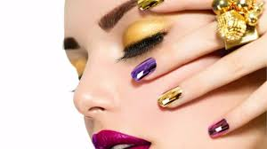 mirror effect gel demo technique nails magazine