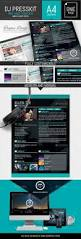 Musician Resume Sample by Vice Dj Musician Onepage Resume Indesign Template By Dogmadesign
