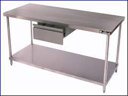 stainless steel butcher table stainless steel kitchen island with butcher block top best of