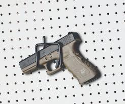wall mount gun hangers large peg slat wall pistol rifle display hook sku 6149 u2013 rack