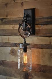 Edison Bulb Sconce Moonshine Lamps Pulley Wall Sconces And Walls