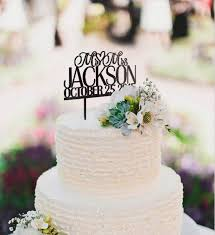 monogram wedding cake topper inexpensive personalized mr and mrs monogram wedding cake topper