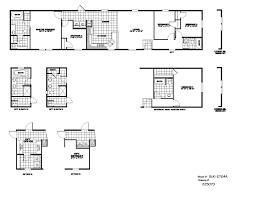 2 Bedroom 1 Bath Mobile Home Floor Plans by Charming 4 Bedroom Single Wide Floor Plans With Bath Mobile Home