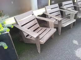 Grey Adirondack Chairs Best 25 Modern Adirondack Chairs Ideas On Pinterest Wooden