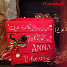 personalised christmas eve box crate hamper christmas