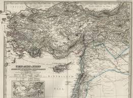 Asia Minor Map by Kurdistan Maps