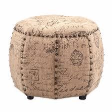 Round Tufted Ottoman Round Leather Ottoman Design Crowdbuild For