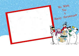 cute christmas card templates free business template