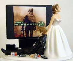 gamer cake topper wedding cake topper
