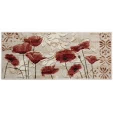 Red Washable Rug Poppy Heaven Washable Rectangular Rug Jcpenney