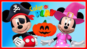 mickey mouse clubhouse halloween game mickey minnie disney