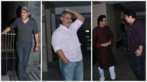 Aamir Khan Home Bollywood Stars Attend Aamir Khan U0027s Dinner Party At His Home