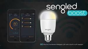 sengled camera light bulb sengled boost lightbulb turns a l into a wi fi signal enhancer