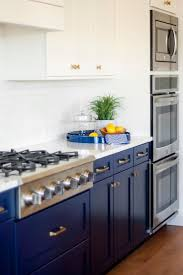 15 best martha stewart kitchens images on pinterest martha bright blue cabinets bring a nontraditional yet fabulous flair to this kitchen the space stays