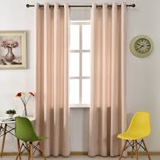 Hotel Room Darkening Curtains Blackout Curtains Modern Living Room Curtain Solid Color Drape