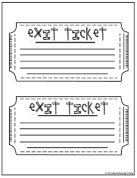exit ticket template 40 free editable raffle u0026 movie ticket