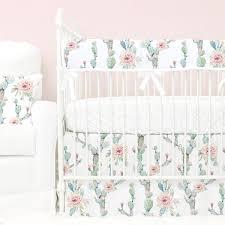 floral crib bedding baby flower bedding caden lane