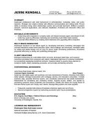 exles of marketing resumes marketing resume objective statements http topresume info