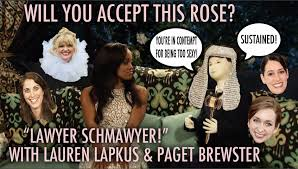 The Bachelorette Meme - will you accept this rose 50 lawyer schmawyer w lauren lapkus