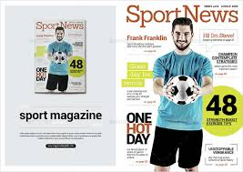 23 sports magazine templates free u0026 premium download