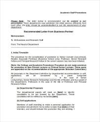promotion recommendation letter sample hr director recommendation